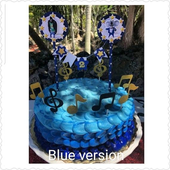 Singing Flower Birthday Cake Topper