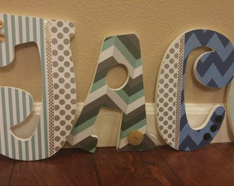 Nursery Letters; Boys Room Letters; Name