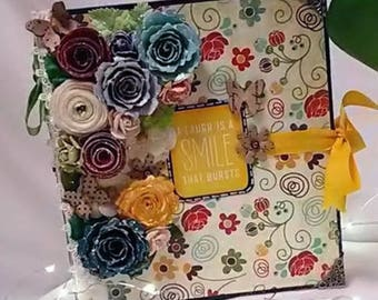 Bright and Lovely Any Occasion 4x6 Photo Folio/Scrapbook