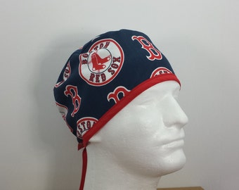Boston scrub hat surgical scrub hat nurses scrub hat Boston hearts scrub hat Massachusetts