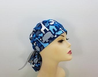Surgical Cap ponytail stile-Loves Domestic Animals-cotton 100% 3e5b1fa89838