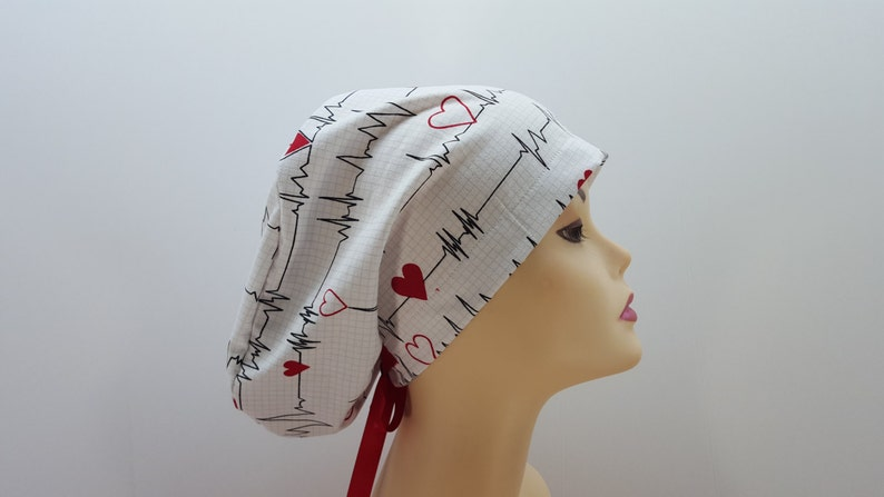 6604759a696 Women's surgical scrub hats or scrub caps-EKG | Etsy
