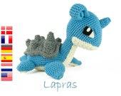 Crochet pattern Lapras (Pokemon) Amigurumi