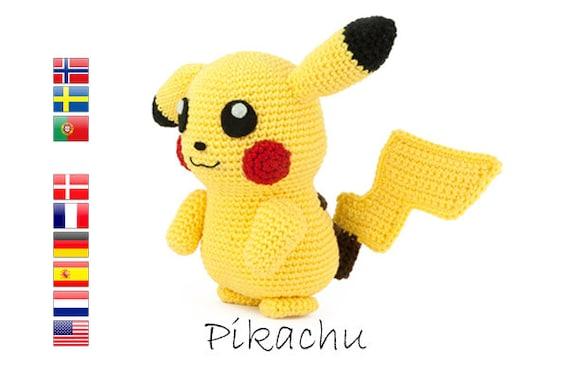 Crochet Pattern Pikachu Pokemon