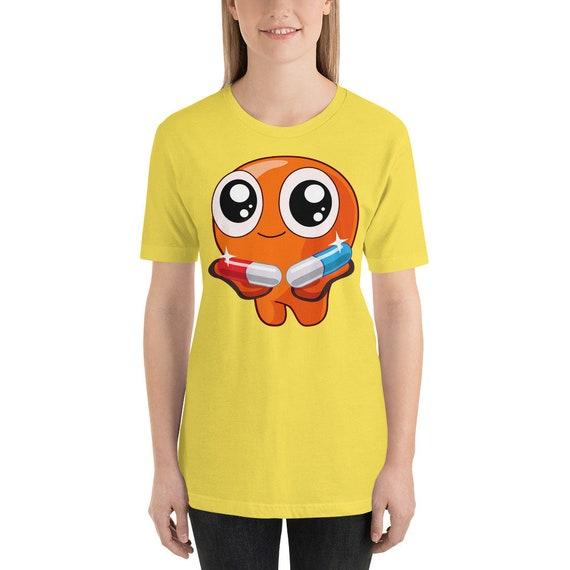 El Ente Camiseta Kawaii unisex hombre mujer impresión arte diseño moda  regalo fashion cute friki anime comic píldoras pastillas matrix b782893213b9c