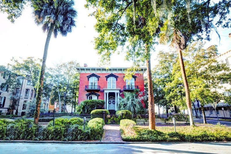 The Mercer House Savannah Ga Etsy