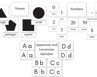 image about Printable Addition Flash Cards 0-20 named Range flash playing cards Etsy