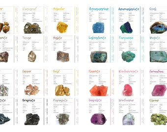 Rock identification | Etsy