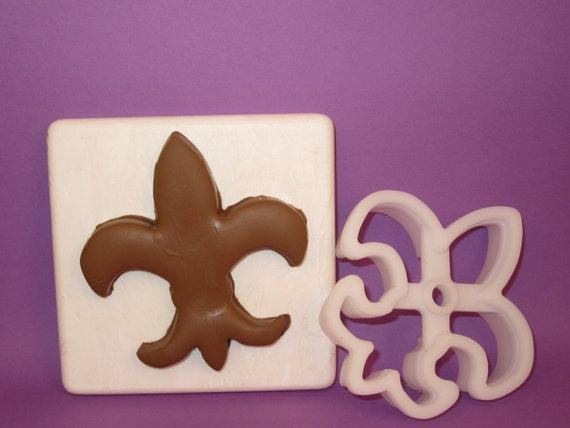 Fleur De Lis Boy Scout Deep Cut Cookie Cutter Etsy