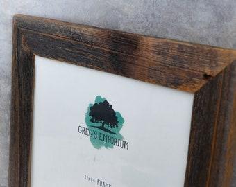11''x14'' Reclaimed Barnboard Picture/Art Frame