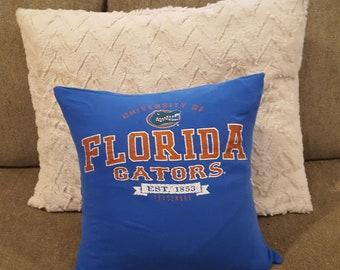 University of Florida Gator Pillow Cover