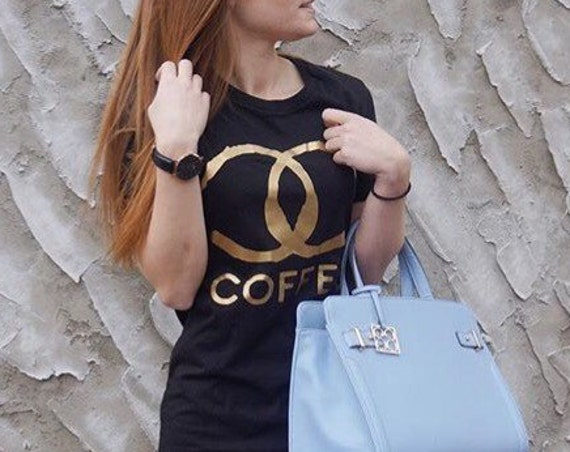 CC Coffee / Statement Tee / Graphic Tee / Statement Tshirt / Graphic Tshirt / T shirt