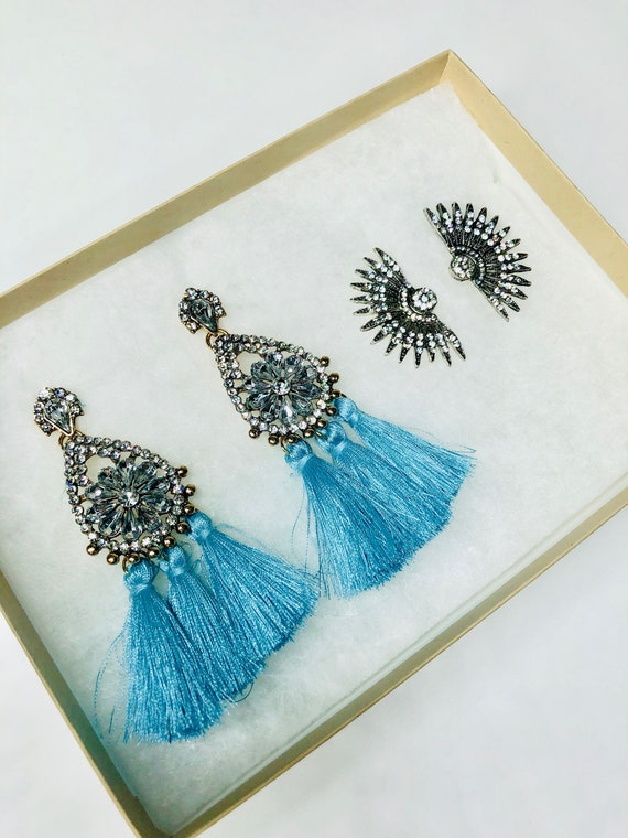 Late Nights Statement Earring Gift Set
