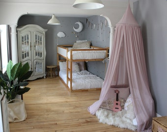 BED CANOPY/ Bed voile / Reading corner / Bed sky