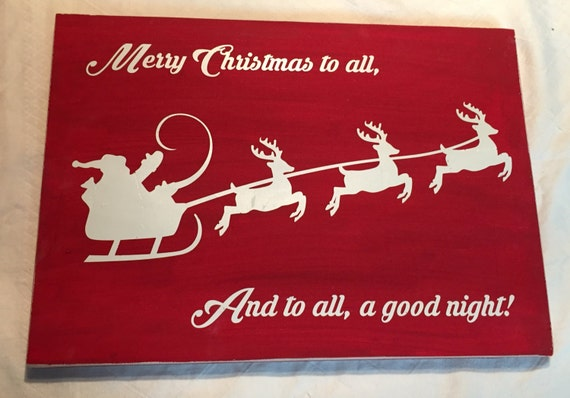 image 0 - Merry Christmas To All And To All A Good Night
