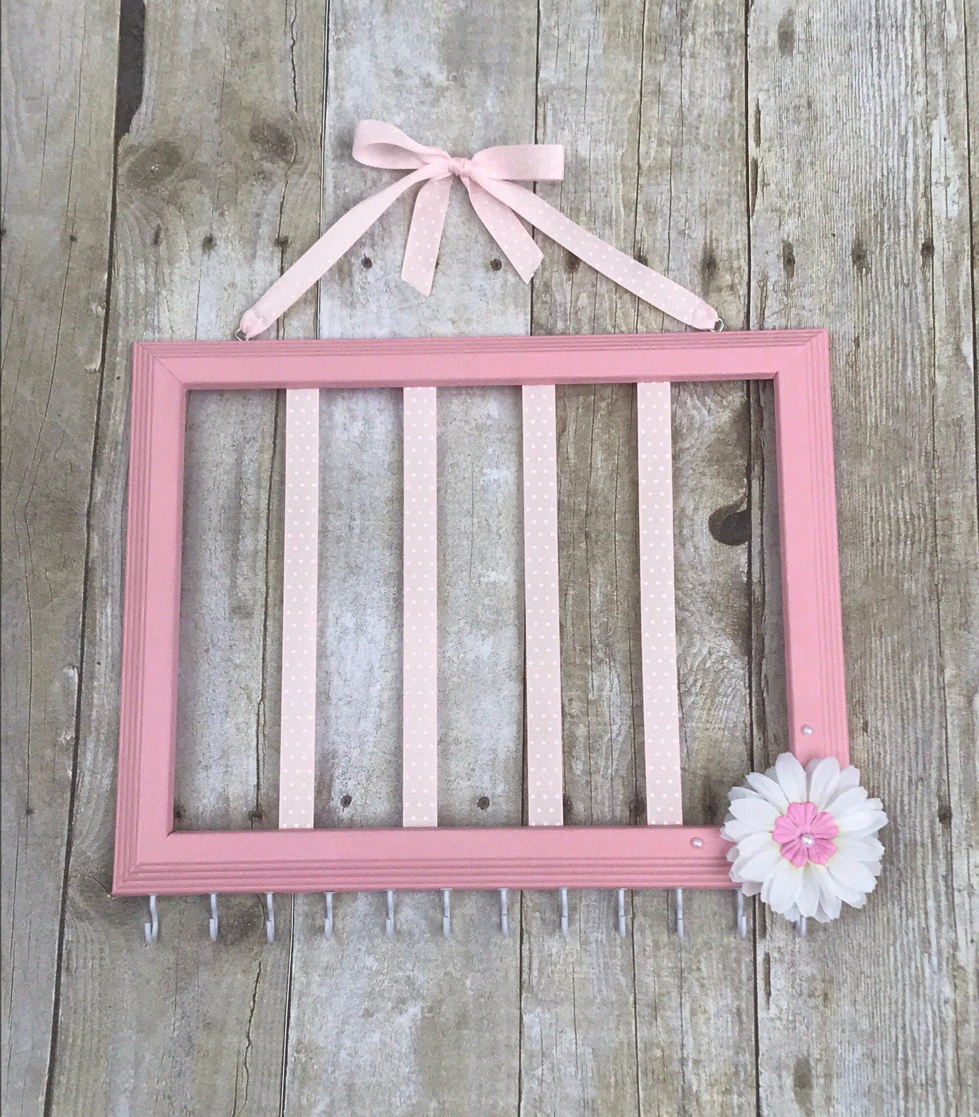 Leicht rosa Haar Schleife Inhaber rosa und weißen   Etsy