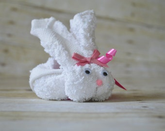 White Boo Boo Bunny, Set of 3, Woodland Baby Shower Favor Gift, Cold Ice Pack, Mommy to be, Easter Gift, Stocking Stuffer, Gender Neutral