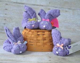 Purple Boo Boo Bunny, Woodland Baby Gift, Baby Shower Favor, Cold Ice Pack, Mommy to be, Easter Gift, Stocking Stuffer, Gender Neutral Gift
