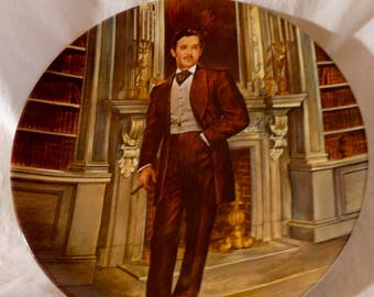 Rhett Butler Gone With the Wind Collectors Plate by Ray Kursar MGM Knowles Fine China