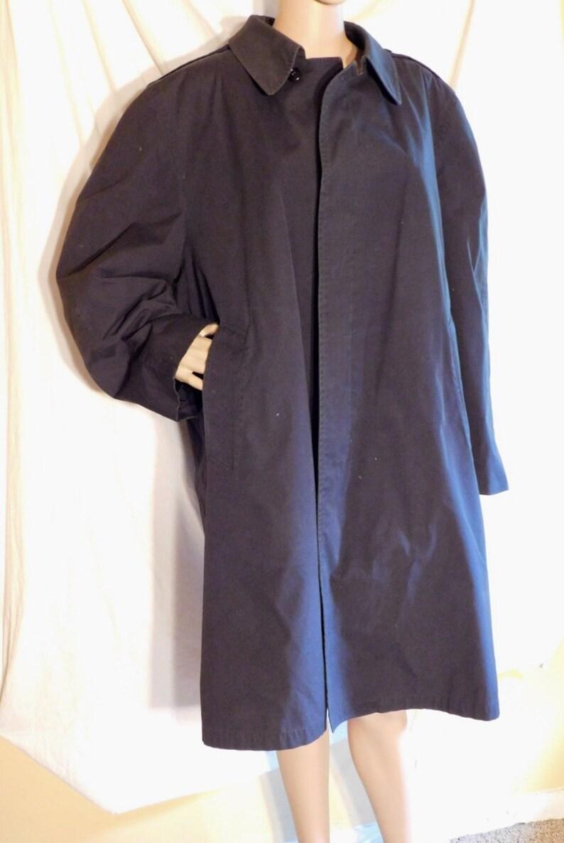 691b9cd0b Vintage London Fog Raincoat Mens Raincoat with Removable Liner Black  Raincoat Black London Fog Mens Raincoat