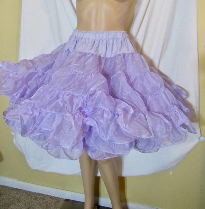 710ce5379d Partners Please Lilac Crinoline Purple Crinoline 2 Tier