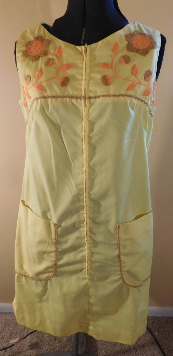 Vintage Cotton Smock Dress Lisa Smock by Lisanne Y