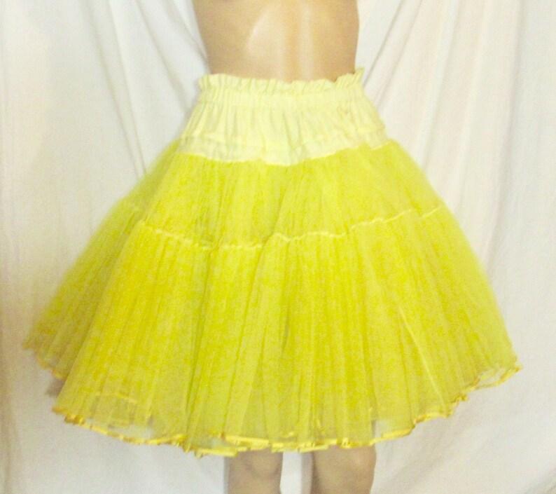 084702deac Vintage Crinoline Yellow Crinoline Square Dancing Crinoline