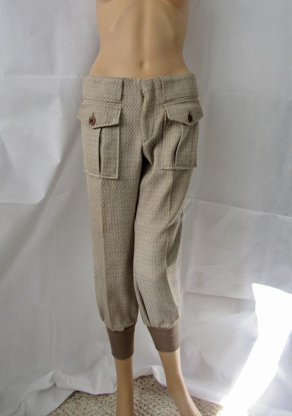 Vintage Levi's Sta-Prest Sportswear Pants Brown Tw