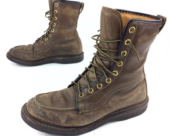e5c7b48629b Vintage sears boots   Etsy