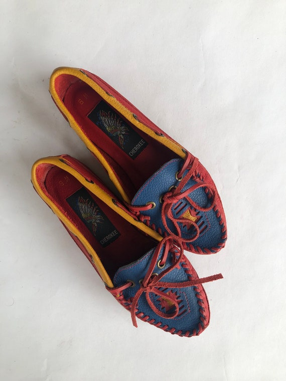Cherokee Moccasins Size 6
