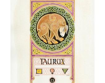 Tyr and Fenrir Norse Mythology Linocut | Etsy