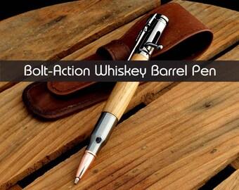 Custom Pen    Wood Pen   Ballpoint Pen   Birthday Gift   Oak Wood Pen   Jack Daniels Pen   Bolt Action Pen   Oak Pen   Engraving Available