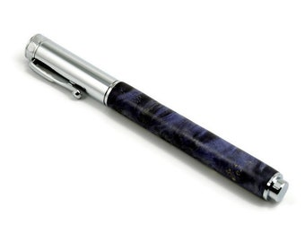 Colorful Purple Wood Fountain Pen