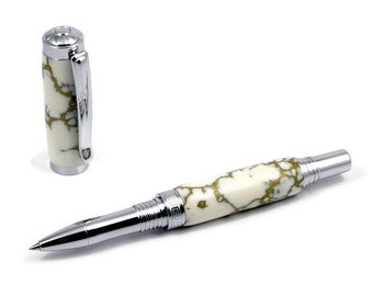 Luxury Marble Stone Rollerball Pen