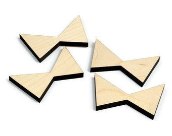 Maple Inlay | Wood Butterfly | Board Stitcher | Maple Butterfly | Maple Wood Accent | Sets of 2, 4, or 8 | Template Available