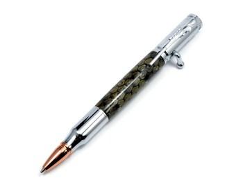 Prairie Rattlesnake Ballpoint Chrome Pen