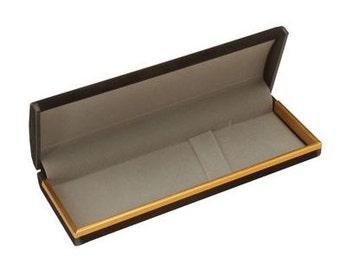 Black Velour Single Pen Gift Box