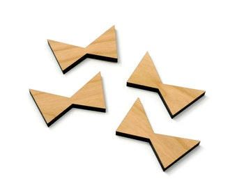 Cherry Inlay | Wood Butterfly | Board Stitcher | Cherry Butterfly | Cherry Wood Accent | Sets of 2, 4, or 8 | Template Available