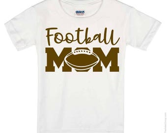 Football Mom  T Shirt