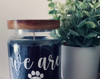We Are State Large Jar Candles / Penn Inspired Candles / State Jar Candle