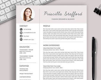 creative resume template cv template word resume cover letter professional and teacher resume modern resume instant download resume