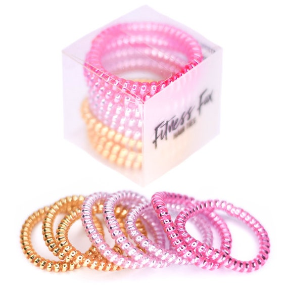 Fitness Fox Hair Ties Tele Cord Hair Ties No Rip Hair  9fa0519ec78