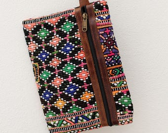 Bohemian Wallet Clutch, Boho Purse, Tribal Clutch, Embroidery Purse, Gift For Her, Womens Clutch, Gypsy Tribal Wallet