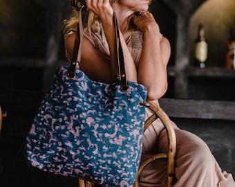 Boho Tribal Bag, Tote bag, Shoulder Bag, Handbag, Boho Bag, Womens Bags, Vintage Embroidered Bag, Everyday Bag For Women