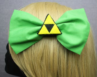 Legend of Zelda Triforce Hair Bows
