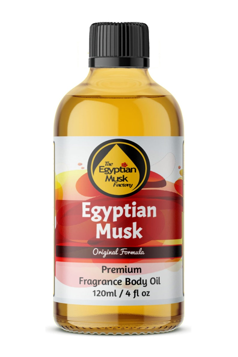 Egyptian Musk Oil Pure and Thick 4oz Glass Bottle by image 0