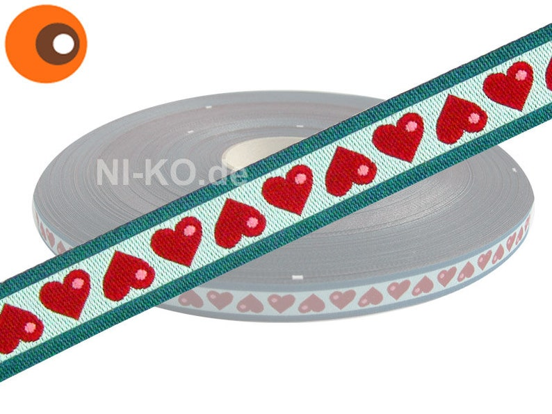 1m weaving tape different designs 12 mm Oh My Blue Heart!