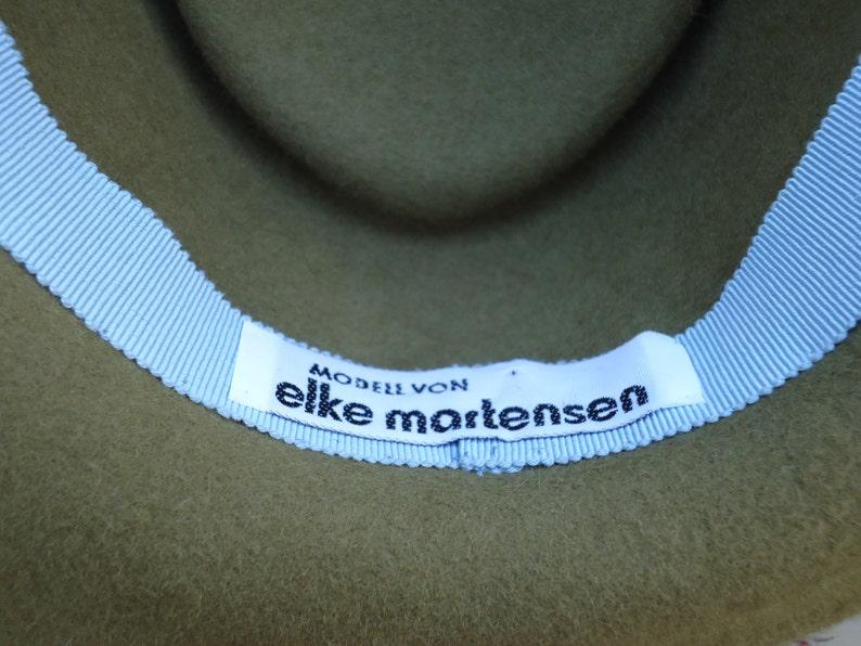 Vintage Elke Martensen Haute Couture Milliner Hamburg Germany