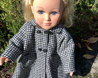 """18/"""" Pollici Bambola Ragazza Party Dress viola e cerchietto American Girl la nostra generazione"""