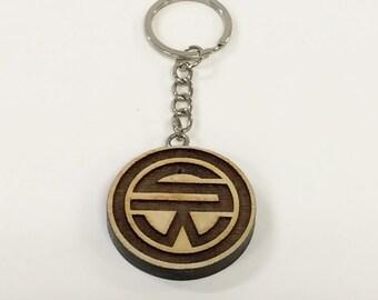 Tv series WESTWORLD mystery SW Logo keychain